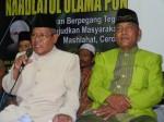 KH. Sayuti Farid (Rois) dan H.Muhatim Hasan (Ketua) PCNU Ponorogo 2004-2008